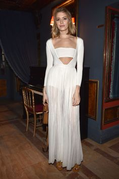 Elena Perminova. See all the celebrities' looks at the Balmain fall 2015 after party.