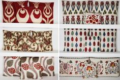 More pillows from Yastik. I love the red and white ones, so hard to choose just one.