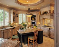 Kitchen Awesome Kitchen Concepts For Portion of the Price: Traditional Kitchen Islands With Bench Seating Wallpaper Small Kitchen Island Ideas High Gloss Granite Countertops With Beautiful Wooden Chest Of Drawer Pendant Lamp Dining Table And Chair