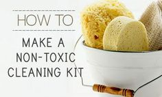 nontoxic cleaning kit
