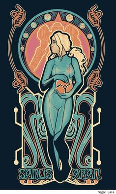 Art Nouveau X-Men T-Shirts by Megan Lara are Mighty Fine [Fashion]