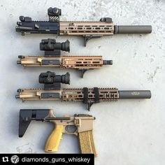 """who-loves-guns-i-love-guns: """" #Repost @diamonds_guns_whiskey with @repostapp. ・・・ I feel like Kim K trying to put together an outfit… Should I go with the: 1. suppressed 10.4 HK upper? 2. 7.5 pistol..."""