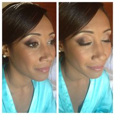 www.instagram.com/makeupbybrittanym. Beautiful bridal makeup. Ethic makeup done soft and natural. Makeup artist Brittany Martin