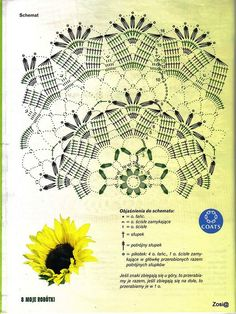 Kira scheme crochet: Scheme crochet no. Crochet Doily Diagram, Crochet Doily Patterns, Crochet Chart, Filet Crochet, Crochet Motif, Crochet Doilies, Crochet Stitches, Knit Crochet, Crochet Round