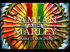 """Skrillex & Damian """"Jr Gong"""" Marley - """"Make It Bun Dem"""" [Audio]"""