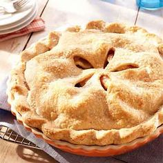 Blue Ribbon Apple Pie from Land O'Lakes