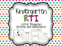 Rock on little First-ies: RTI