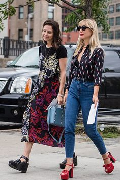 Street Style New York Fashion Week S/S16