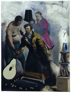 Neo Rauch » Krönung IDavid Zwirner Krönung I 2008 Oil on canvas 98 3/8 x 74 4/5 inches (250 x 190 cm)