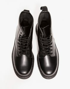 1460 8-Eye Boot In Black Mono, Dr. Martens. A solid favourite of mine since the age of 14.
