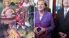 Merkels Raute gibt's schon seit 564 Jahren | Politik