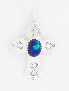 Cross pendant from Kokopelli Traders - Native American Jewelry