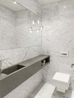 Annex House-Powder room by Tom Arban