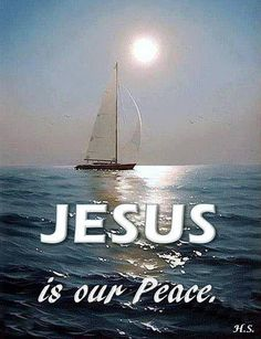 Jesus is our peace He Is Lord, Jesus Is Lord, Jesus Christ, Savior, Christian Facebook Cover, Religious Quotes, Spiritual Quotes, Biblical Quotes, Prince Of Peace