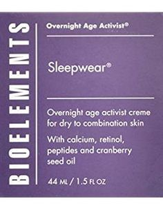 Bioelements Bio 0518 Sleepwear 1 5 Ounce. *** Click on the image for additional details. (This is an affiliate link) #FacialSkinCare