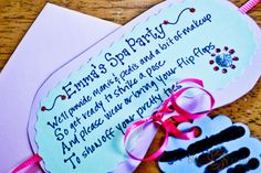 Little Girls Spa Birthday Party Ideas | Posted by Bliss Images and Beyond at 2:35 PM 0comments