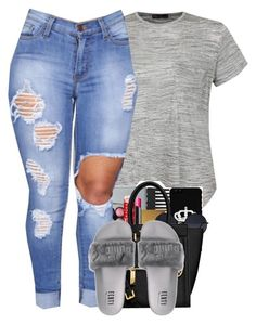 """❤️"" by aaleeyahxpetty ❤ liked on Polyvore featuring Ally Fashion #schooloutfits"