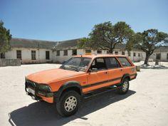 Dié 1987 Peugeot 505 GTi Dangel-4×4 van Ian Loubser is allesbehalwe gewoon.