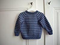 Baby Raglan Jumper, download pattern for free