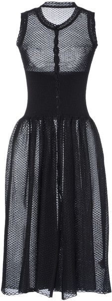 Kneelength Dress - Lyst