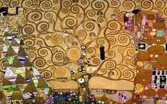~ Gustave Klimmt ~ Tree of Life ~