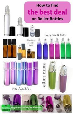 Do you love making essential oil roller bottle blends? So do we!! But there are so many roller bottles out there and the cost (and quality) really varies, so where do you start? To help we've put together a list of the best deals on all kinds of essential oil roller bottles: clear, amber, colorful, metallic, extra-large, and the cutest teeny tiny roller bottles. Hope you find this helpful.