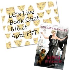 Book Club: My Live Chat for Uganda Be Kidding Me is Today!