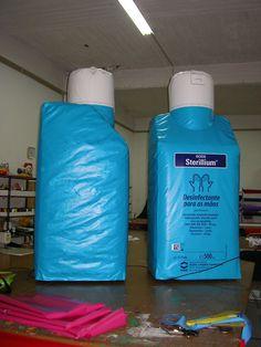 Embalagens insufláveis, com 2m.