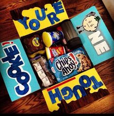 One tough cookie. Deployment care package idea