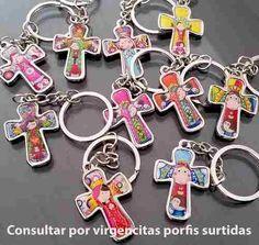 souvenir comunion de varon bautismo de nene llaveritos