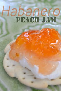 Peach Jam Pair this sweet hot jam with creamy goat cheese and crackers for the best appetizer ever.Pair this sweet hot jam with creamy goat cheese and crackers for the best appetizer ever. Best Appetizers Ever, Peach Jam, Peach Jalapeno Jam, Peach Jelly, Habanero Salsa, Sweet Peach, Homemade Jelly, Jam And Jelly, Sauces