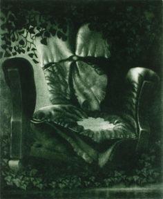 Reusefulness - Kiertoon. Leena Talvitie, 1996. Printmaking, mezzotint.