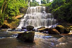 Beautiful Waterfalls Africa in Ghana