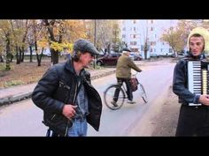 WOW! Watch the background. The guy on the bike just appears.   Первая телепортация в г. Пенза (The first teleportation in Russia)