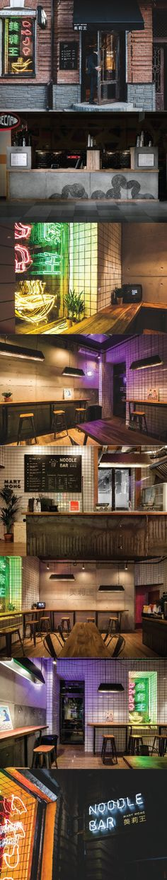 Mary Wong Noodle Bar. A class of its own. #interior (More design inspiration at www.aldenchong.com)