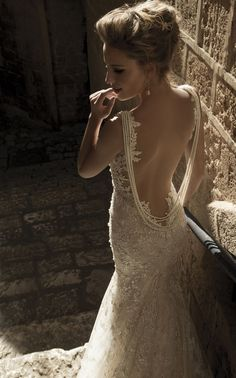 alia Lahav Wedding Dresses with Sexy Open Back Designs
