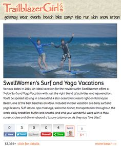 d07e6ca15dbcab SwellWomen s Surf and Yoga Vacations. Goofy Foot Surf School