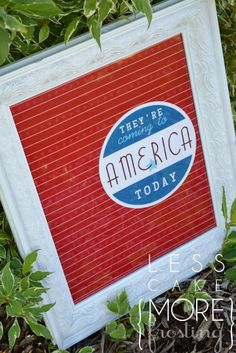 Printable:  Coming to America... TODAY!  Love it!
