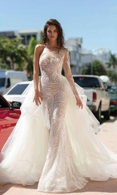 Courtesy of Berta wedding dresses; www.berta.com #weddingdress