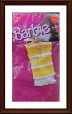 Vintage Barbie Clothes - 1980's Fashion Finds - NRFP - In Package - Lot 5 | eBay
