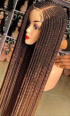 Box Braid Wig, Braids Wig, Twist Braids, Cornrows, Box Braids, Twists, Ghana Braids Hairstyles, Twist Hairstyles, Black Girl Braids