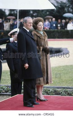 Beatrix, * 31.1.1938, Queen Of The Netherlands Since 30.4.1980, State Stock Photo, Picture And Royalty Free Image. Pic. 48670764