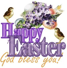 Happy Easter ... God bless you