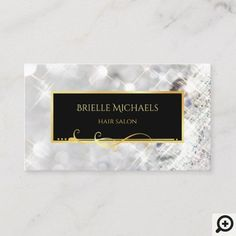Y Glitz And Glam Business Cards