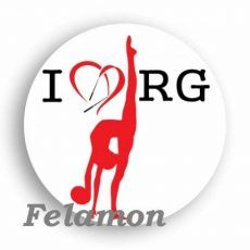 I Love RG kitűző