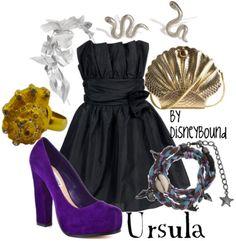 disneybound: Ursula