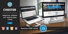 Chester - Multi Purpose Technology Software Responsive WordPress Theme