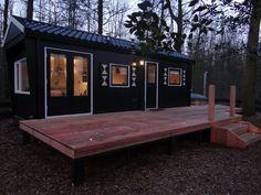Buitengewone Boshut - Micromaisons à louer à Epe, Gelderland, Pays-Bas Ping Pong Table, Lofts, Jacuzzi, Tiny House, Room, Decor, Netherlands, Loft Room, Bedroom