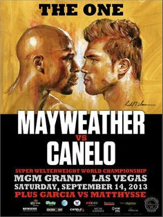 Floyd Mayweather Fight, Saul Canelo Alvarez, Boxing Images, Boxing Posters, Sports Posters, Mgm Grand Las Vegas, Museums In Las Vegas, Boxing Fight, Boxing Boxing