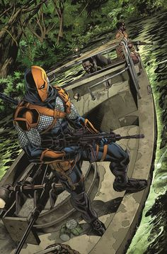 """Deathstroke: Rebirth #1"" first look"